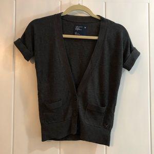 AEO short sleeve cardigan